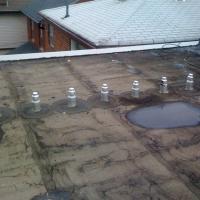 162 Albertus Ave. Flat Roof Before