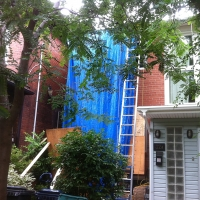 Protecting windows and the garden